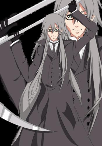 Undertaker Black Butler Wallpaper With Anime Entitled