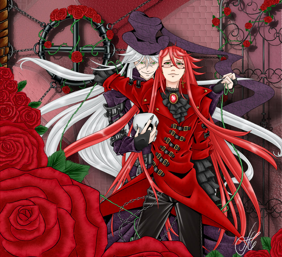 Black Butler Undertaker And Grell