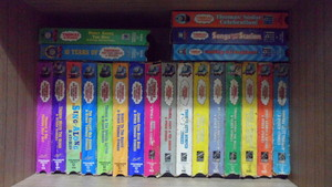 Thomas the Train and friends VHS Collection