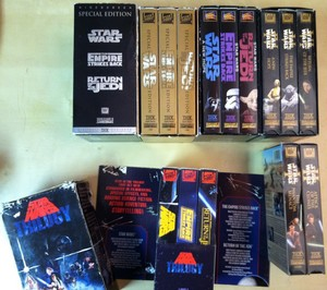 Star Wars VHS Collection {2}