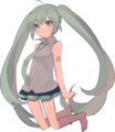 Transparent Miku - vocaloids photo