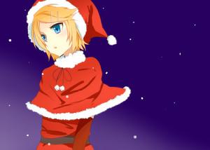 Kagamine Rin Christmas