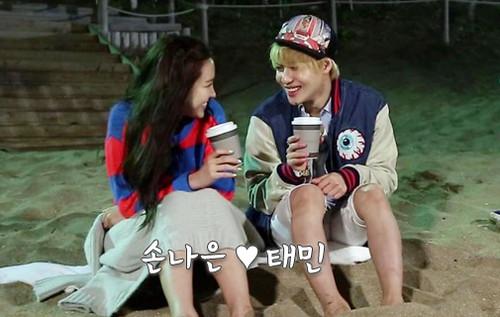 Taemin naeun real dating sites