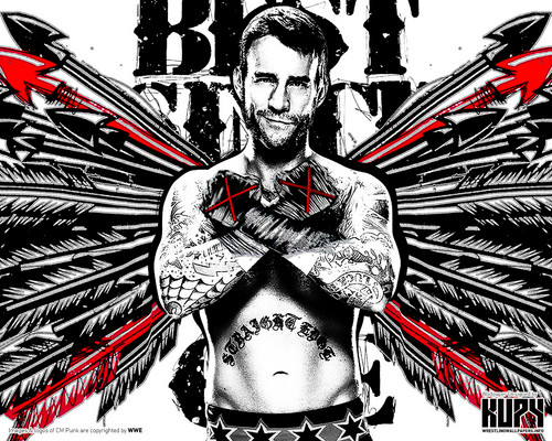 WWE achtergrond possibly containing anime titled CM Punk - Best Since dag 1