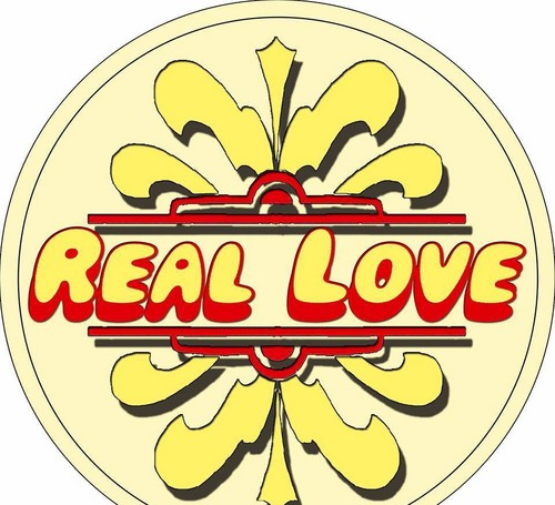 Wallpapers Wallpaper Titled REAL LOVE Beatles TributeLOGO