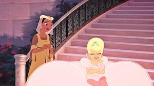 "Walt Disney Screencaps - Princess Tiana & charlotte ""Lottie"" La Bouff"