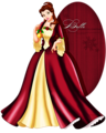 Walt Disney Fan Art - Princess Belle - walt-disney-characters fan art
