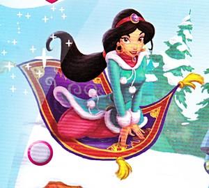 डिज़्नी Princess Magazine - Princess चमेली & Carpet