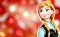Christmas - Anna - walt-disney-characters wallpaper
