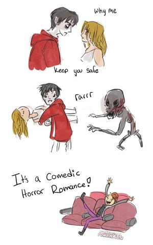 Comedic Horror Romance! ☠