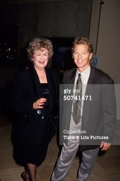 William Katt with Barbara Hale