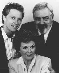 William Katt, Raymond Burr, and Barbara Hale