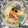 Winni the gangsta - winnie-the-pooh fan art