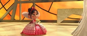 Vanellope at Felix and Calhoun wedding