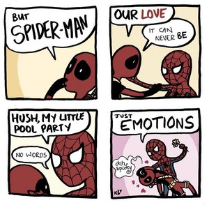 Spider-man and Deadpool?