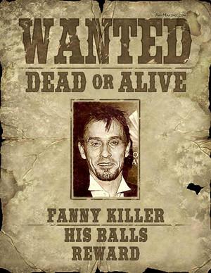 Hanna's reward if anda find him!!