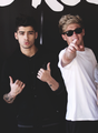 Zayn and Niall ♚ - zayn-malik fan art