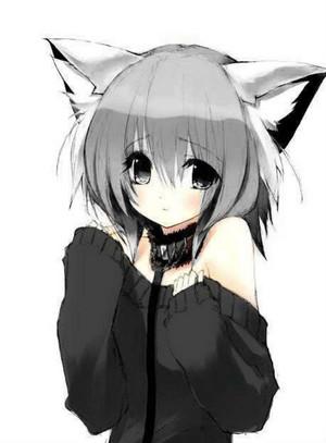 dark wolf girl