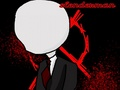 Slenderman chibi - creepypasta photo