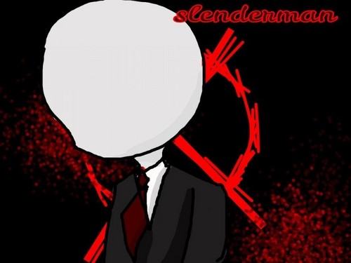 creepypasta پیپر وال possibly with عملی حکمت called Slenderman chibi