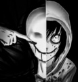 Slendy and Jeff - creepypasta photo