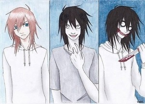The Three Stages Of Jeff The Killer