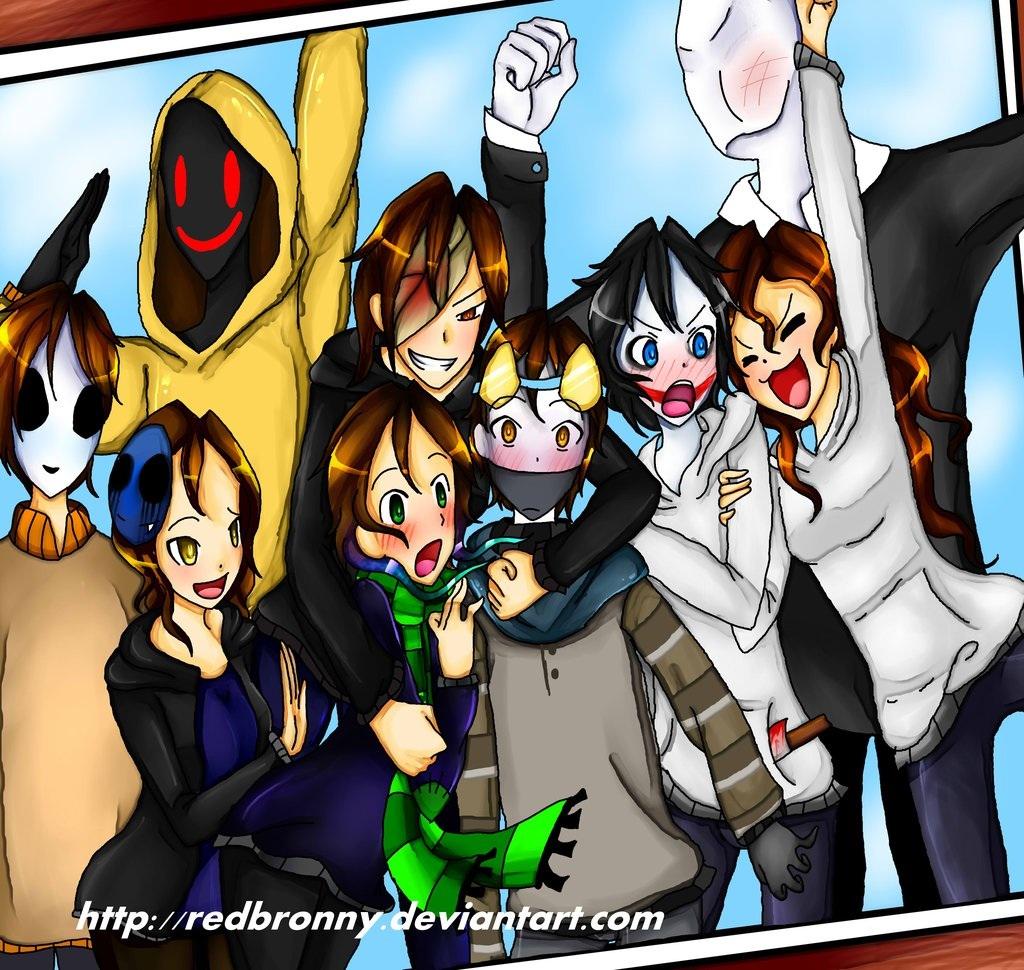 CreepyPasta Group photo