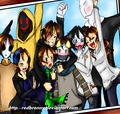 CreepyPasta Group Photo - creepypasta photo
