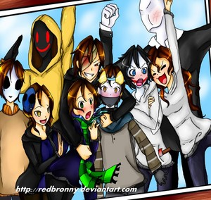 CreepyPasta Group Photo