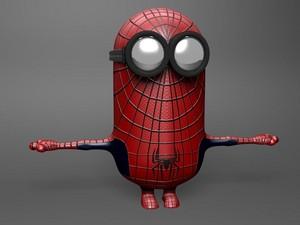 거미 minion!