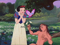 Snow White x Tarzan - disney-crossover photo