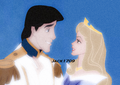 Eric x Aurora - disney-crossover photo