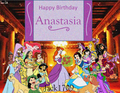 Happy Birthday Anastasia - disney-crossover photo