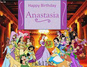 Happy Birthday ऐनस्टेशिया