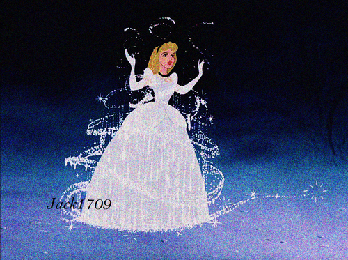 disney crossover پیپر وال entitled Aurora as Cinderella