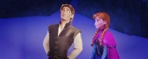 Flynn Rider/Anna