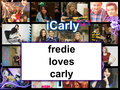 fredie loves carly - icarly fan art