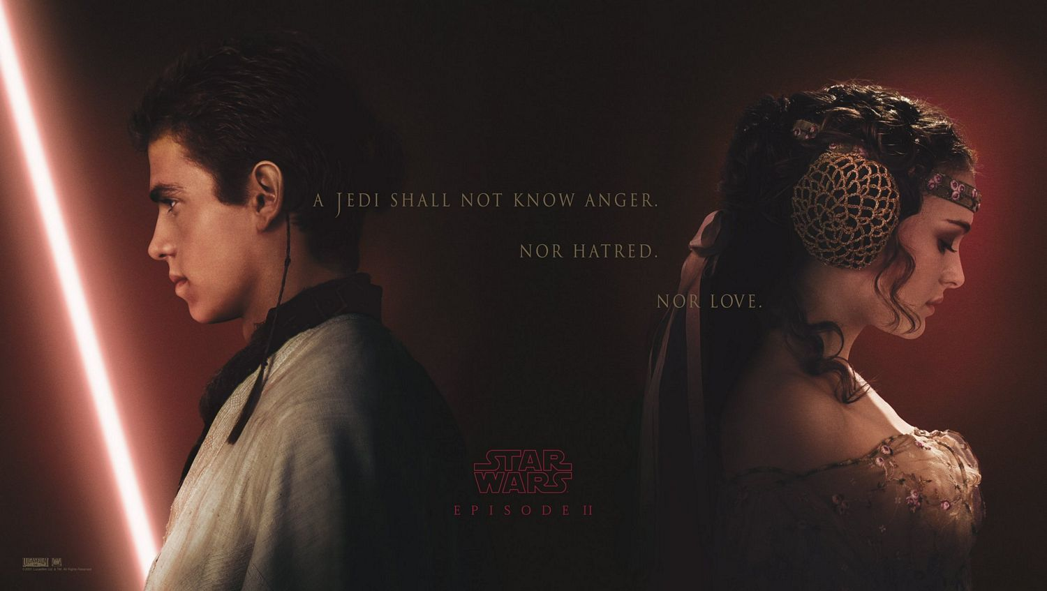 Attack of the Clones - Anakin and Padme