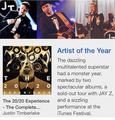 iTunes Artist of the Year 2013  - itunes photo