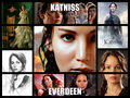 katniss everdeen - the-hunger-games fan art