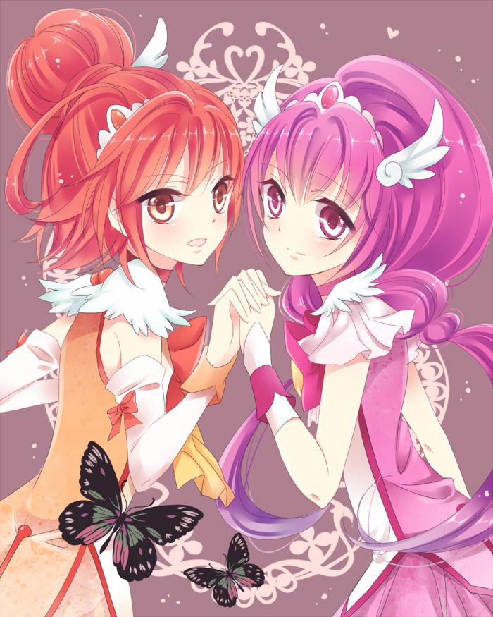 Anime Cat Twin Girls