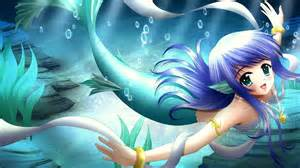 Mermaid アニメ girl