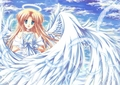 angel anime girl