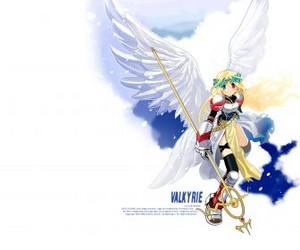 anime ángel girl
