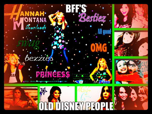 disney Channel bintang Singers wallpaper titled old cinta it