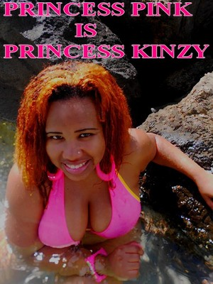 PRINCESS KINZY a la plage
