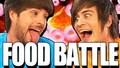 food battle:Anthony vs Ian. Who's gonna win?