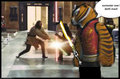 tigress and quin gon jin vs darth maul - star-wars fan art