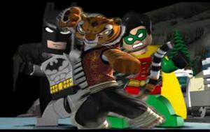 tigress,batman and robin