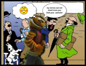 tigress ,captain and teacher affair